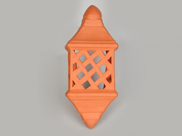 Lattice wall lamp