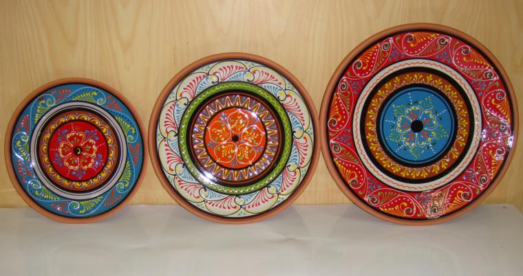 Platos decorativos modelo arabi ceramica hispania qualitas - Platos decorativos pared ...
