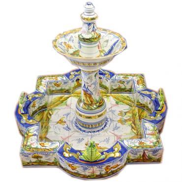 Fuentes ceramica hispania qualitas for Ceramica para patio precios